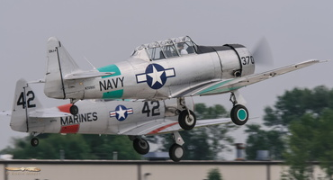 North American SNJ-4 & T-6A Texan