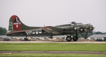 "Boeing B-17G Flying Fortress ""Texas Raider"""
