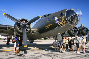 "Boeing B-17F Flying Fortress ""Memphis"" Belle"