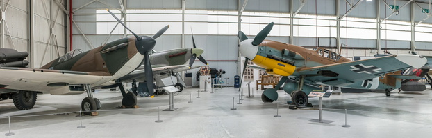 Battle of Britain : Spitfire Mk.I, Hurricane Mk.IIC, Messerschmitt Bf 109G