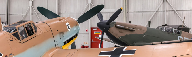 Battle of Britain : Spitfire Mk.I, Messerschmitt Bf 109G