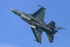 """Zeus"", Hellenic Air Force F-16 Block 50+ solo display"