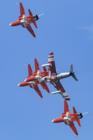 Patrouille Suisse with former Hawker Hunter aircraft