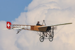 Blériot XI in swiss colors