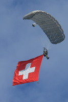 Swiss flag opening sequence