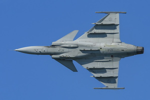 Swedish Air Force Saab Gripen display
