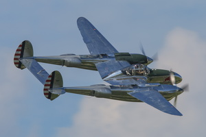 Red Bull's Lockheed P-38L Lightning