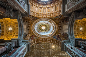 Ceiling of Saint Peter's Basilica