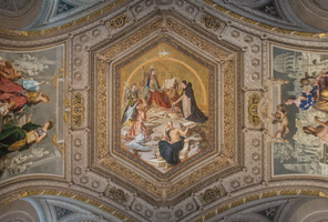 Ceiling of the Galeria dei Candelabri