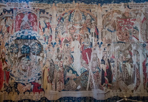 Baptisme of the Christ - Flamish Tapestry XVIth century