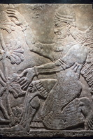 Assyrian winged genius
