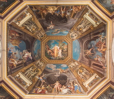 Ceiling of the room The Muse by Tommaso Conca