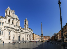Sant'Agnese in Agone and Piazza Navona