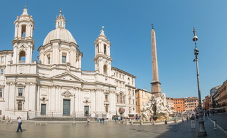 Sant'Agnese in Agone and Fontana dei Fiumi (Bernini)