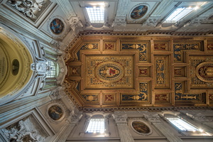 Ceiling of St John Lateran basilica