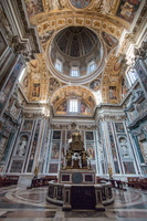 Altar of Sistine Chapel and Oratory of the Nativity