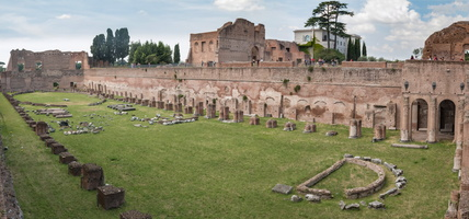 Hippodrome or Stadium of Domitian Palace
