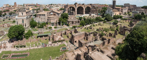 Eastern part of the Roman Forum
