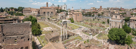 Western part of the roman forum