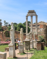 House of Vestals & Temple of Castor and Pollux