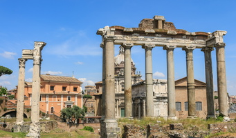Temples of Saturn & Vespasian