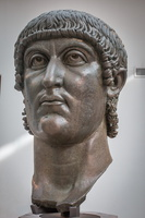 Colossal head of Constantine the Great