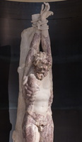 Statue of the satyr Marsyas from the Gardens of Maecenas (original of the 4th BC)
