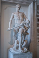 Hercules with the hydra of Lerne