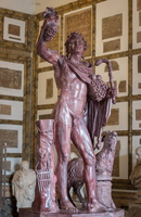 Faun in red marble (2nd AD)