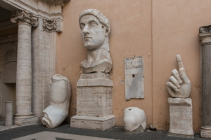 Parts of the colossus of Constantine