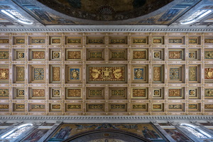 Ceiling of the transept