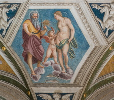 Saturn and Venus (and his son Cupid) in Pisces