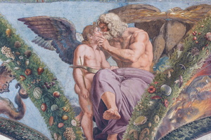 Cupid asks Jupiter to gather the Council of the Gods to authorize him marrying Psyche