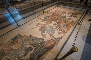 Gladiators mosaic (4th AD)