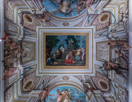 Ceiling of the Silene room by Conca (18th AD)