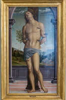 Saint Sebastian by Perugino (16th AD)