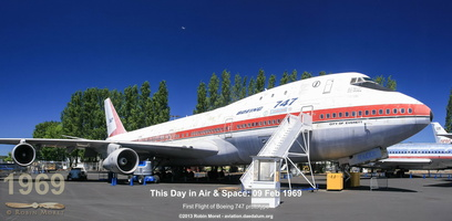 Boeing 747-121 City of Everett (prototype) - Museum of Flight, Seattle, WA