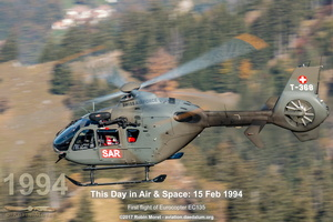 Swiss Air Force EC635 - Axalp Ebenfulh, BE
