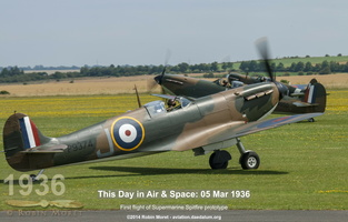 Spitfire Mk.Ia - Duxford Flying Legends, UK