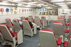 Pilot briefing room