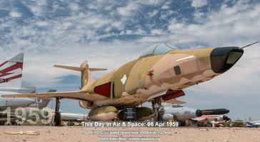 McDonnell F-101C Voodoo - Pima Air & Space Museum