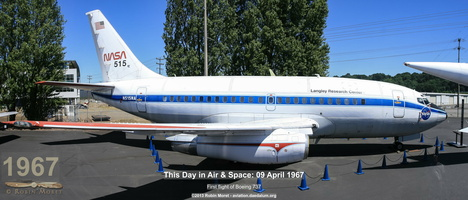 Boeing 737-130 (prototype) - Museum of Flight, Seattle, WA