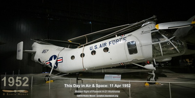 Piasecki CH-21B Workhorse - National Museum of US Air Force, Dayton, OH