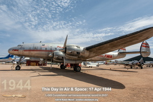 TWA Lockheed L-049 Constellation - Pima Air & Space Museum, Tucson, AZ
