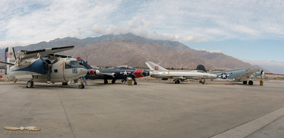 Palm Springs Air Museum outdoors exhibit