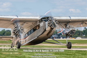 Ford 5-AT Trimotor - EAA AirVenture, Oshkosh, WI