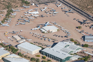 Pima Air & Space Museum aerial view
