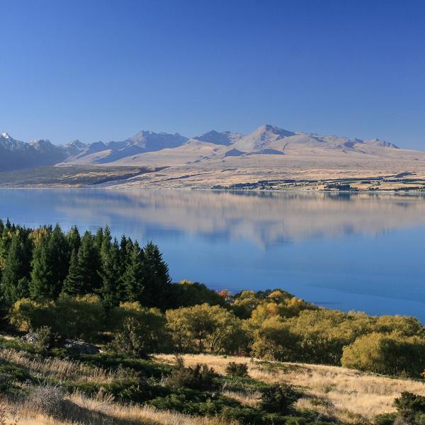 Lake Pukaki en fin de journée