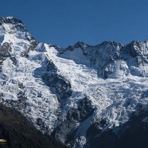 Mount Sefton glaciers