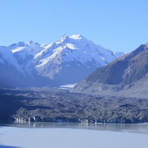 Tasman Glacier, 27km